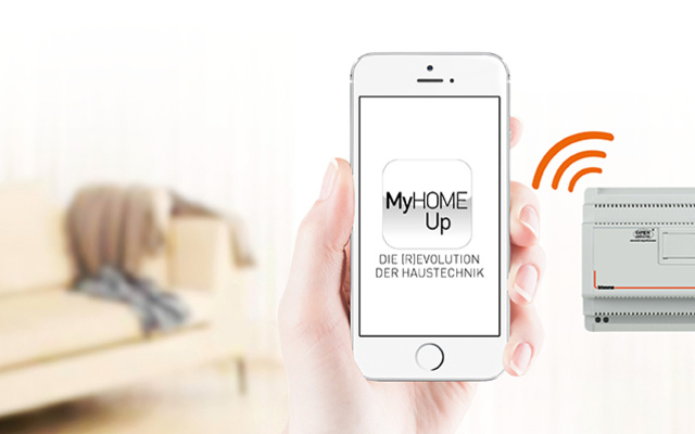 MyHOME / MyHOME_Up bei ElektroService Rainer Thodte GmbH in Halle (Saale)